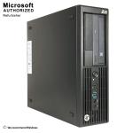 HP Z230 GAMING SFF Desktop WS (Intel Core i7-4790, 16GB RAM, 120GB SSD + 2TB HDD, DVD-RW, GTX 1650) -EN/FR - Refurbished
