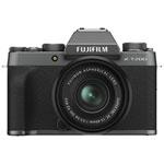 Fujifilm X-T200 Mirrorless Camera with 15-45mm OIS PZ Lens Kit - Dark Silver