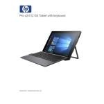 HP Pro x2 612 G2 i5-7Y57 8GB 256GB SSD 12? with Keyboard WIN 10 PRO