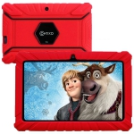 """Contixo 7"""" Kids Tablet V8-2 Android 8.1 Parental Control 16GB WiFi Camera 20+ Learning Apps & Games+ Kid-Proof Case - Red"""