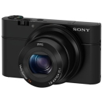Sony Cyber-shot RX100 20.2MP 3.6x Optical Zoom Digital Camera - Black - Open Box