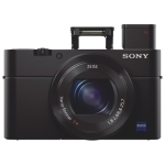 Sony Cyber-shot RX100 III 20.1MP 2.9x Optical Zoom Digital Camera - Black - Open Box