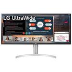 "LG 34"" Ultrawide FHD 75Hz 5ms GTG IPS LED Monitor (34WN650-W) - Black"