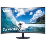 "Samsung 27"" FHD 75Hz 4ms GTG Curved VA LED FreeSync Gaming Monitor (LC27T550FDNXZA) - Dark Blue Grey"