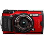 New Olympus Tough TG-6 Waterproof / Shockproof / Wi-Fi 12MP 4x Optical Zoom Digital Camera - Red