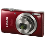Canon PowerShot ELPH 180 20.0MP 8x Optical Zoom Digital Camera - Red - Open Box