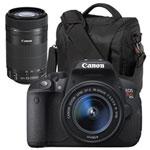 Canon EOS Rebel T5i DSLR Camera with 18-55mm/55-250mm IS STM Lenses & Bag