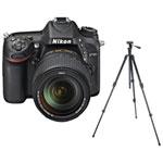 Nikon D7100 DSLR Camera with 18-140mm Lens & Tripod/Monopod Kit