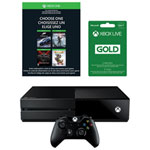 Xbox One 1TB Name Your Game Bundle with Xbox Live 3-Month Gold Membership