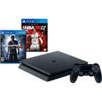 PlayStation 4 500 GB Uncharted 4: A Thief's End Bundle with NBA 2K17