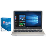 "ASUS VivoBook X541 15.6"" Touchscreen Laptop & McAfee LiveSafe Bundle (Intel Core i5-7200U/1TB HDD)"