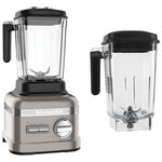 KitchenAid Professional 2.6L Stand Blender with Replacement 2.7L Jar - Stainless Steel/Black