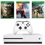 Xbox One S 500GB Battlefield 1 Bundle with Fallout 4 and Titanfall 2