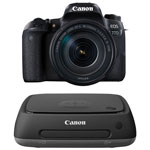 Canon EOS 77D DSLR Camera with 18-135mm Lens Kit & 1TB Network Attached Storage