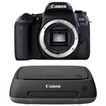 Canon EOS 77D DSLR Camera (Body Only) with Connect Station CS100 1TB Network Attached Storage