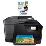 HP OfficeJet Pro 8710 Wireless All-In-One Inkjet Printer with Instant Ink 100-Page Monthly Plan