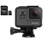 GoPro HERO5 Waterproof 4K Sports & Helmet Camera with Kingston Gold 32GB 90 MB/s MicroSD Memory Card