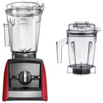 Vitamix Ascent 2300 1.89L Stand Blender with 1.4L Wet Blade Container - Red