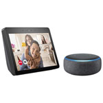 Amazon Echo Show (2nd Gen) & Echo Dot (3rd Gen) - English - Charcoal