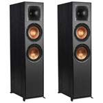 Klipsch R820F 150-Watt 2-Way Tower Speaker - Pair - Black
