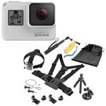 GoPro HERO7 Waterproof HD Sports & Helmet Camera with Accessory Kit - Dusk White - Only at Best Buy