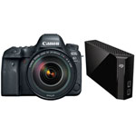 Canon EOS 6D Mark II DSLR Camera & Seagate 8TB External Hard Drive
