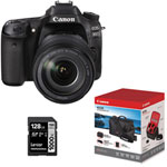Canon EOS 80D DSLR Camera with 18-135mm IS USM Lens & Accessory Kit