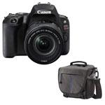 Canon EOS Rebel SL2 DSLR Camera with 18-55mm Lens & Camera Shoulder Bag - Grey