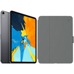 "Apple iPad Pro 11"" 256GB 4G LTE (1st Gen) with Folio Case & Screen Protector - Space Grey/Slate Grey"