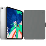 "Apple iPad Pro 11"" 512GB 4G LTE (1st Gen) with Folio Case & Screen Protector - Silver/Slate Grey"