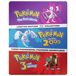 Pokemon Mix Giftset 3-Pack: Pokemon - The First Movie/ Pokemon 2000/ Pokemon 3 - The Movie (Blu-ray)
