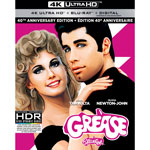 Grease 40th Anniversary Edition (4K Ultra HD) (Blu-ray Combo)