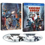 Suicide Squad: Hell To Pay (SteelBook) (Blu-ray Combo)