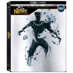 Black Panther (English) (SteelBook) (Only at Best Buy) (4K Ultra HD) (Blu-ray Combo)