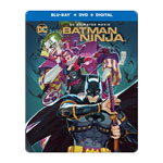 Batman Ninja (SteelBook) (Blu-ray Combo)