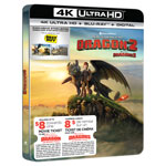How to Train Your Dragon 2 (SteelBook) (Only at Best Buy) (4K Ultra HD) (Blu-ray Combo)