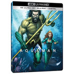 Aquaman (SteelBookMD) (exclusivité BBY) (4K UHD) (combo Blu-ray)
