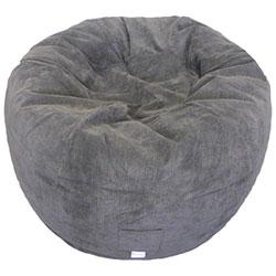Wondrous Contemporary Round Bean Bag Chair Blue Creativecarmelina Interior Chair Design Creativecarmelinacom