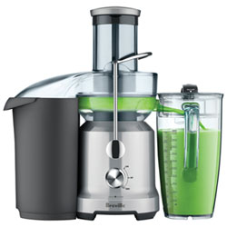 Breville Juice Fountain Cold Centrifugal Juicer - Silver