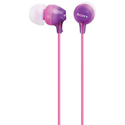 Sony EX Series In-Ear Headphones (MDREX15LP/V) - Violet