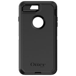 OtterBox Defender iPhone 7/8 Plus Fitted Hard Shell Case - Black