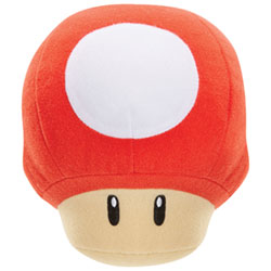 World of Nintendo - Mushroom Sound FX Plush Toy