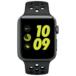 Apple Watch Nike+ 42mm Space Grey Aluminum Case with Anthracite/Black Sport Band