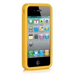 9be07fbe0ec528 Insten Fitted Soft Shell Case for iPhone 4S iPhone 4 - Yellow