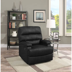 Joyce Traditional Faux Leather Recliner Chair