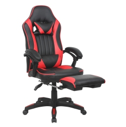 ?ViscoLogic?STRADA Gaming Chair with Footrest (Red Black)  sc 1 st  Best Buy Canada & Gaming Chairs: Computer u0026 Video Game Chairs | Best Buy Canada