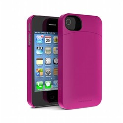 68d86577a5d87d Annex Fitted Hard Shell Case for iPhone 4  iPhone 4S - Pink