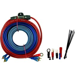 audiop bms700x 10ga car audio amplifier amp wiring kit