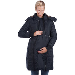 a great variety of models sale uk special selection of Modern Eternity Madison Quilted Maternity Puffer Coat - Small - Black