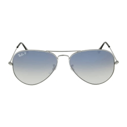 1a79eb24b Ray Ban Aviator 58mm Sunglasses Polarized Blue Grey Gradient RB3025 004/78  58-14